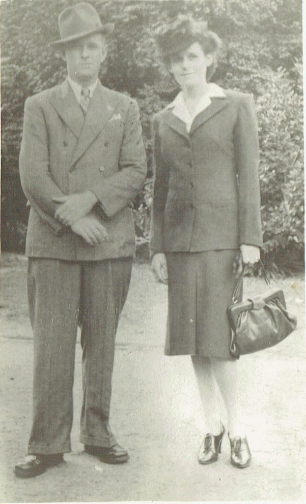 Bert and Thelma Anzac Day 1946