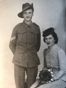 Frank & Doris Thaxter Wedding 21-06-1941