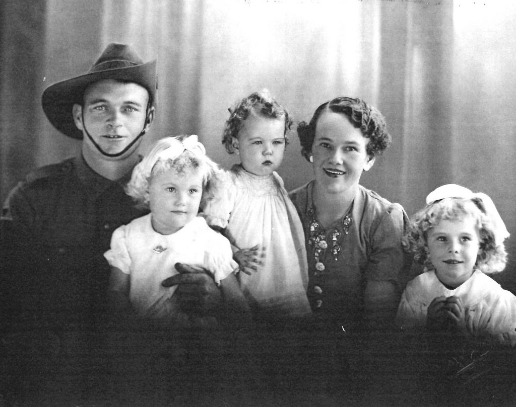 Percy Gibbs & family