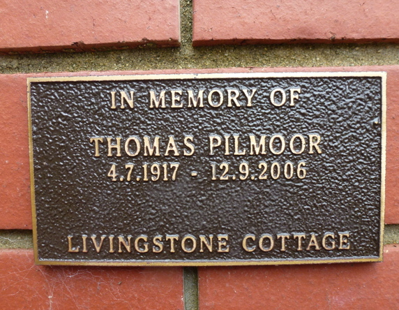 Tom Pilmoor, Fairbridge Remembrance Wall