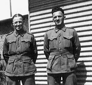 Don Ross WX9233 died Sandakan 23/5/1945 & Claude Knott