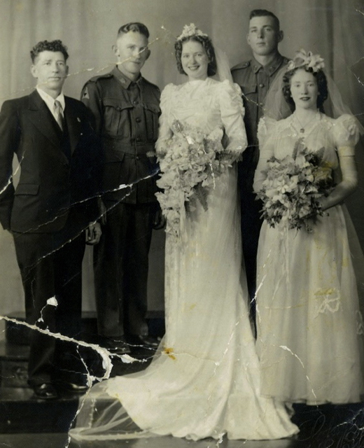 wedding of John Bishop