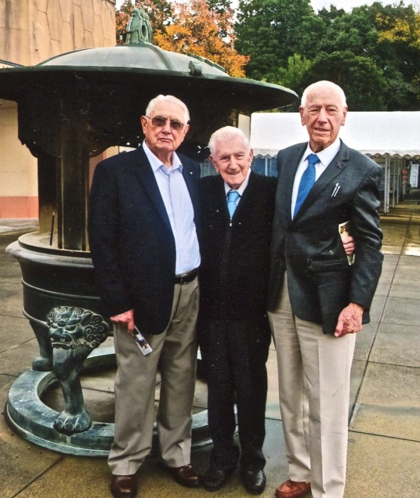 Keith Fowler, John Gilmour & Jack Thomas, Japan trip November 2015