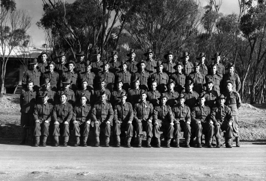 B Company No 8 Platoon