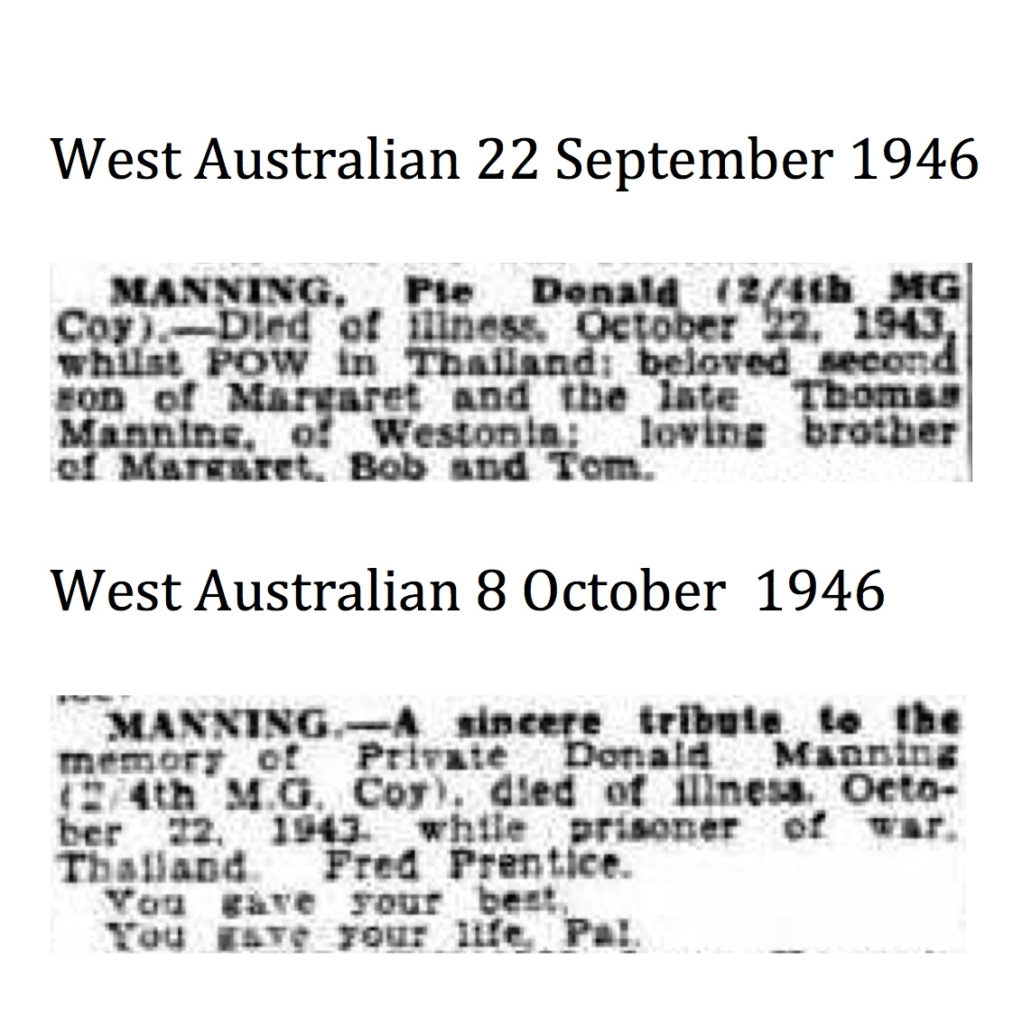 Manning Don West Australian 22 September 1946