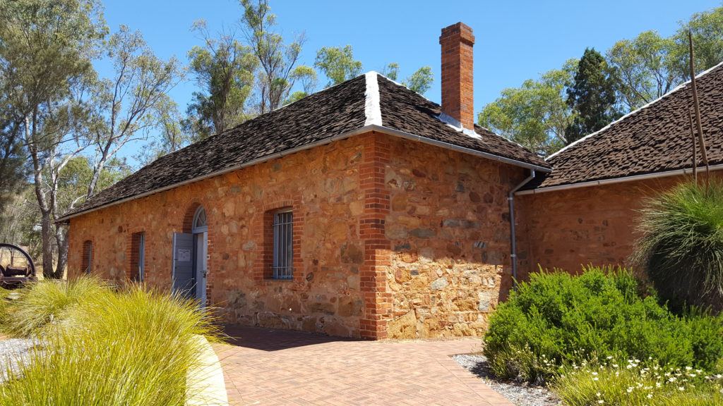 Former Dorizzi home, now Toodyay Museum.
