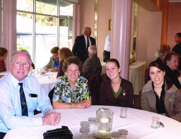 Tom Pilmoor family, Anzac Lunch