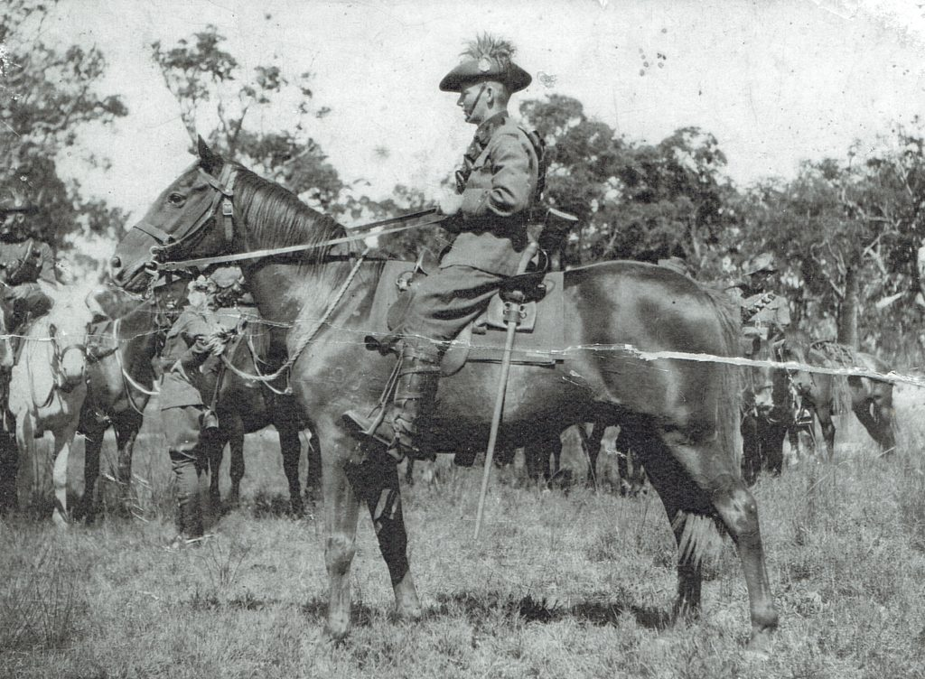John Stewart Smith WX6841 10 Light Horse Militia 17 Dec 1936