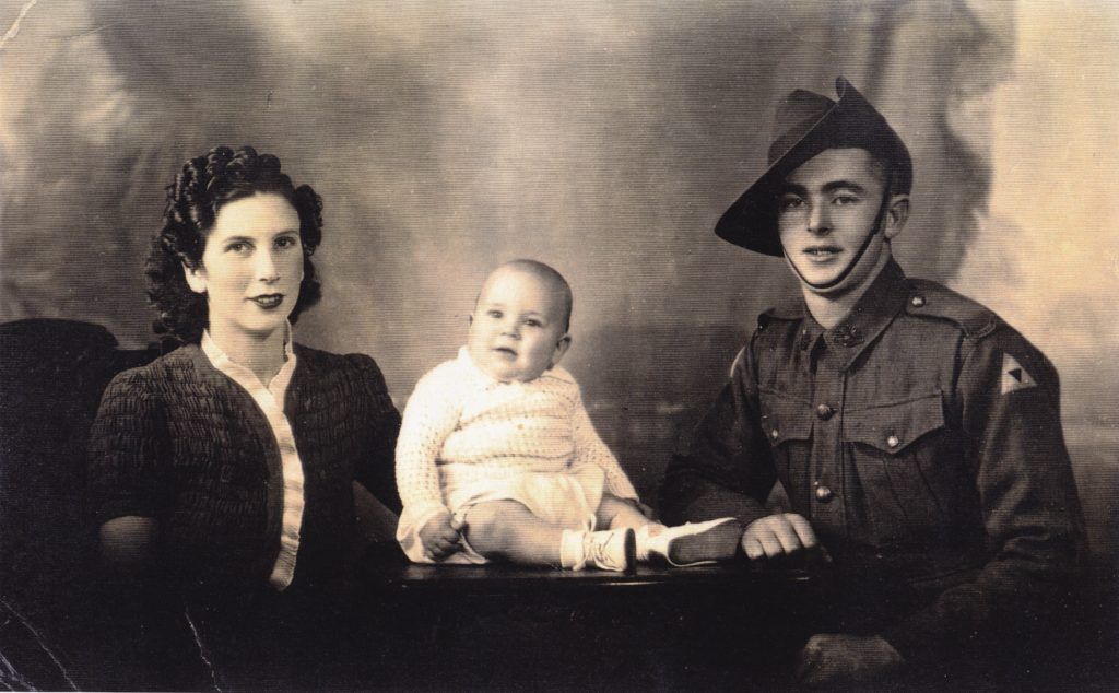 Johny and Thelma (Bennie) Browning with son Robert