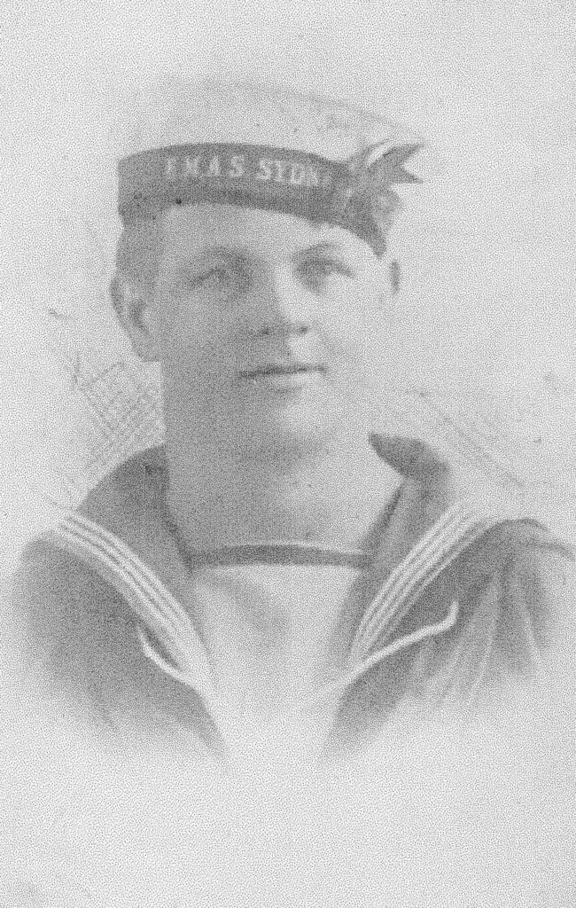 Able Seaman Tom Firns WW1