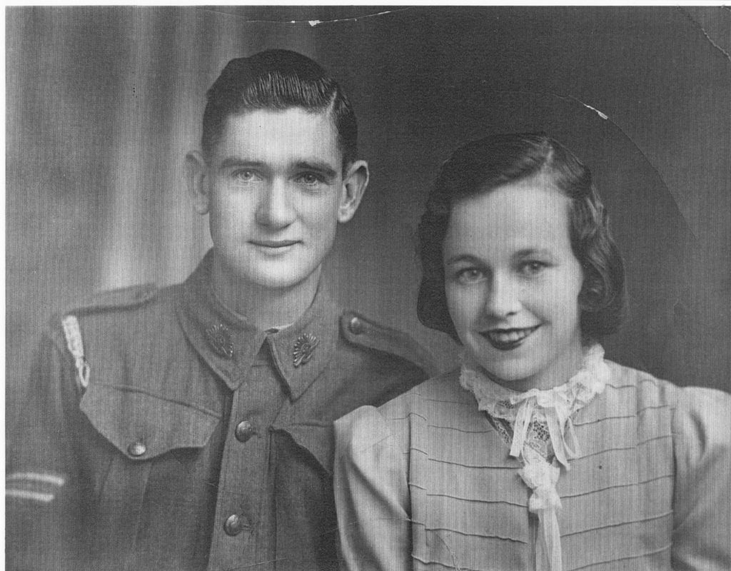 Laurence and Enid Harvey