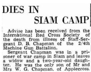 Chapman D B Daily News 16 August 1944